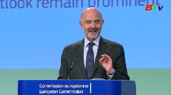 EU hạ dự báo tăng trưởng khu vực Eurozone năm 2019
