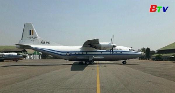 Phát hiện mảnh vỡ của máy bay quân sự Myanmar mất tích