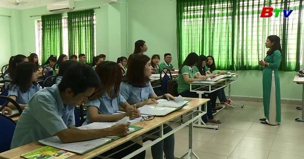 Thông báo tuyển sinh trường cao đẳng Việt Nam - Hàn Quốc Bình Dương