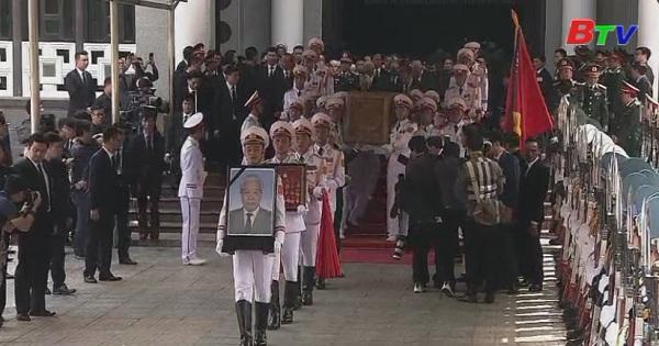 Cử hành trọng thể lễ truy điệu Nguyên Tổng Bí thư Đỗ Mười