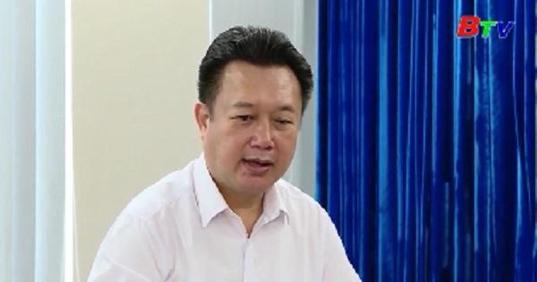Đoàn cán bộ nguồn tỉnh Quảng Nam thăm và làm việc tại tỉnh Bình Dương