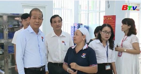 Giám sát kết quả thực hiện nghị quyết 20 tại Trường Trung tiểu học Việt Anh
