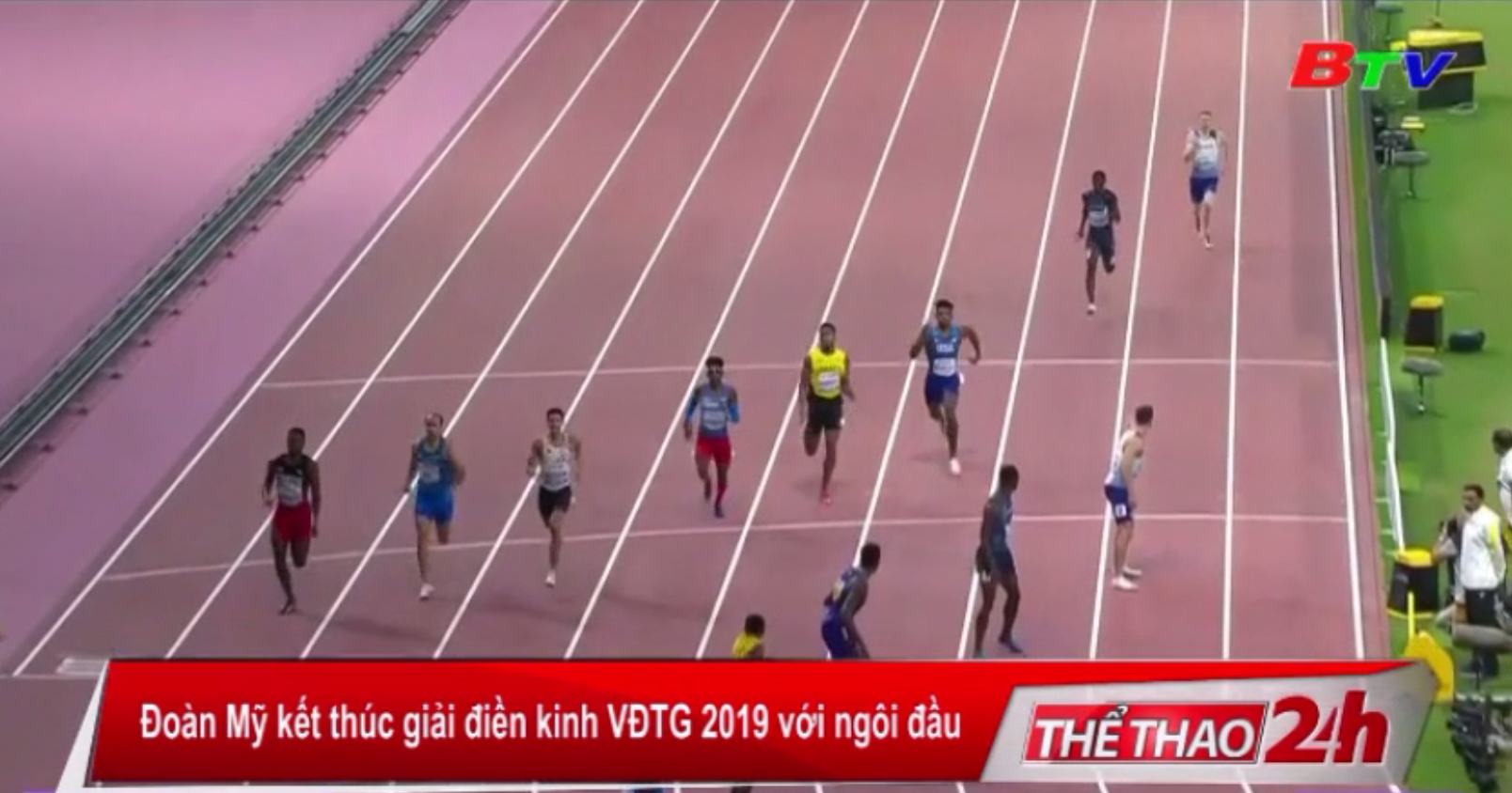 Đoàn Mỹ kết thúc giải điền kinh VĐTG 2019 với ngôi đầu