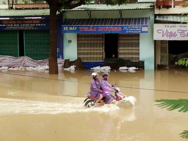 Bình Định: Mưa lũ gây thiệt hại trên 329 tỷ đồng