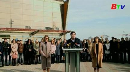 Tỉnh trưởng Odessa của Ukraine từ chức