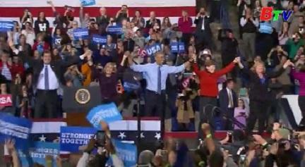 Bầu cử Mỹ 2016 - Hai ứng cử viên vận động bầu cử tới phút chót