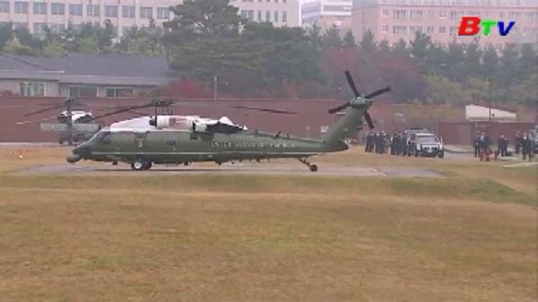 Tổng thống Mỹ hủy chuyến thăm khu phi quân sự liên Triều