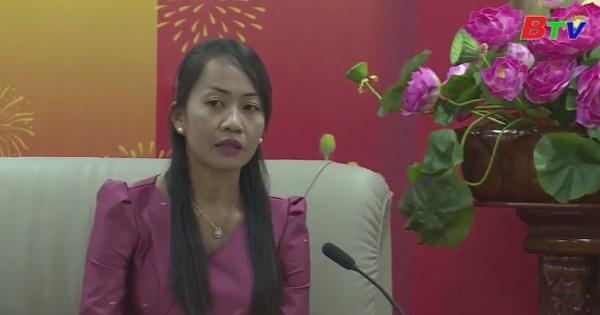 Tỉnh Kandal - Campuchia thăm chúc tết Bình Dương