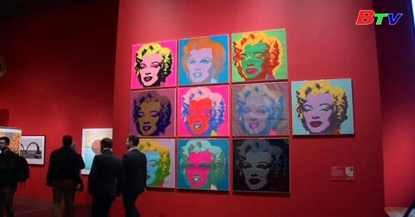 Bảo tàng Anh ở Luân Đôn tổ chức cuộc triển lãm nghệ thuật đại chúng Mỹ