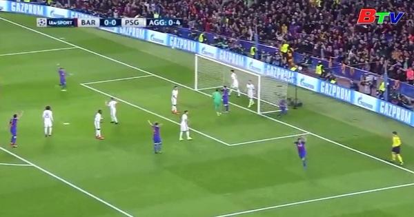 Lượt về vòng 1/8 UEFA Champions League- Barcelona 6-1 Paris SG