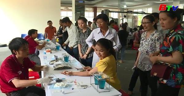 Bình Dương phát triển Câu lạc bộ Hiến máu tình nguyện