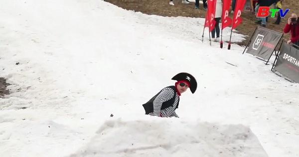 Lễ hội tạm biệt mùa đông ở Belarus