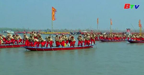 Lễ hội đua thuyền Qintong 2019