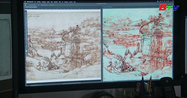 Nghiên cứu chứng minh danh họa Leonardo Da Vinci  thuận cả hai tay