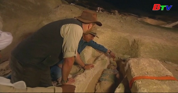 Ai Cập khai quách xác ướp 2.500 tuổi