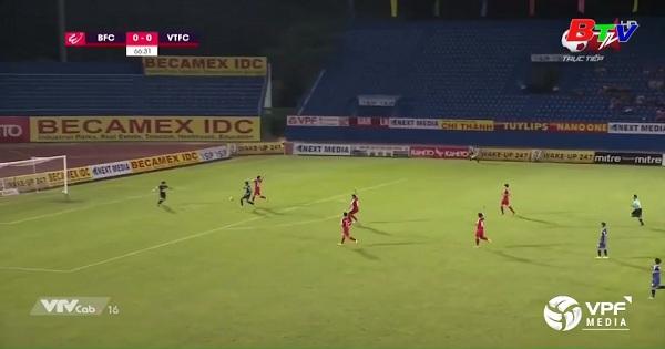 Vòng 4 V-League 2019 - Becamex BD 1-0 Viettel