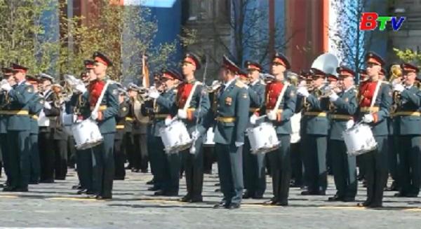 Nga tổng duyệt chuẩn bị lễ duyệt binh ngày chiến thắng
