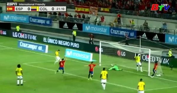 Giao hữu quốc tế - Tây Ban Nha 2-2 Colombia