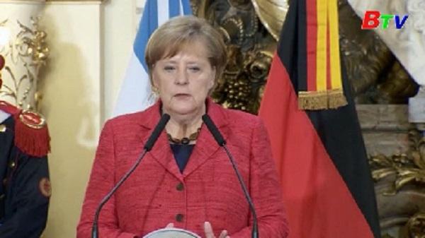 Thủ tướng Đức bắt đầu chuyến công du Mỹ Latinh