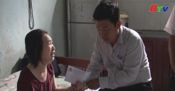 Đẩy mạnh công tác chăm lo người bị tai nạn lao động