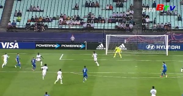 Bán kết U20 thế giới 2017- Anh 3-1 Italia