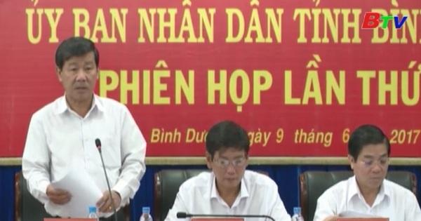 UBND tỉnh Bình Dương chuẩn bị các nội dung trình kỳ họp thứ 4 HĐND tỉnh khóa IX