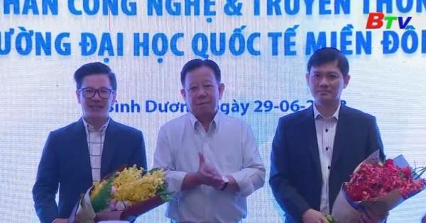 Ký kết thỏa thuận hợp tác giữa VNTT và trường đại học Quốc tế Miền Đông (EIU)