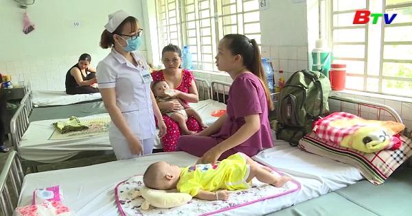 Bệnh tiêu chảy cấp ở trẻ trong mùa nắng nóng