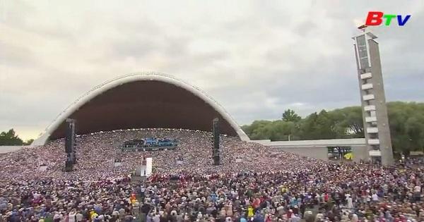 Estonia mừng sinh nhật lần thứ 150 của lễ hội âm nhạc Song Festival Grounds