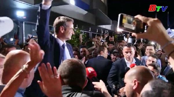 Hy Lạp - Thủ tướng đắc cử Kyriakos Mitsotakis cam kết thay đổi