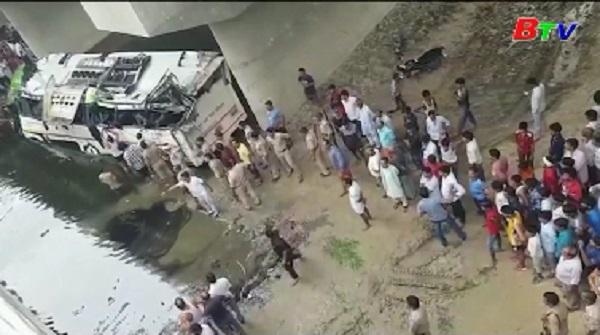 Tai nạn xe buýt thảm khốc tại Ấn Độ