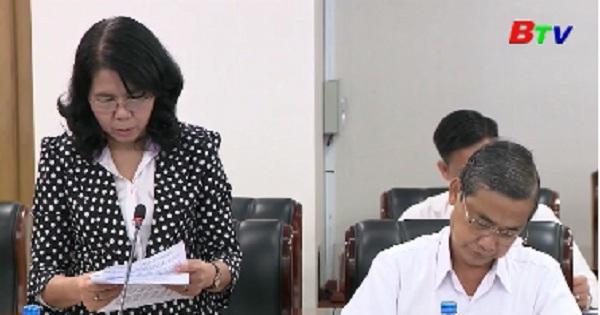 Công bố quyết định thành lập đoàn kiểm tra tỉnh ủy về việc thực hiện đề án sắp xếp tinh giản bộ máy
