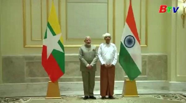 Myanmar và Ấn Độ thúc đẩy hợp tác song phương