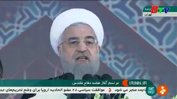 Tổng thống H.Rouhani bảo vệ thỏa thuận hạt nhân Iran