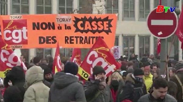 Pháp thúc đẩy cải cách lương hưu