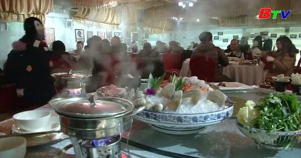 Ghé thăm nhà hàng băng tại Cáp Nhĩ Tân