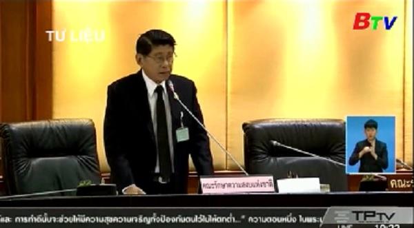 Về tiến trình tổng tuyển cử ở Thái Lan