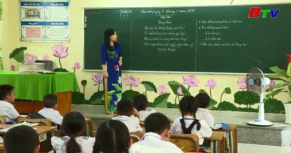 Dạy và học của Trường Tiểu học Lái Thiêu Thị xã Thuận An, Bình Dương