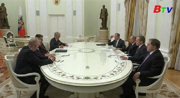 Thống thống Nga mong muốn cải thiện quan hệ với Đức
