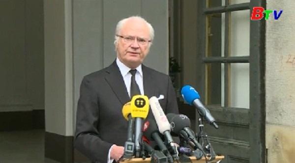 Nhà vua Thụy Điển lên án vụ tấn công ở Stockholm