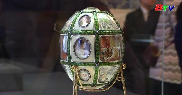 Truyền thống trưng bày trứng phục sinh ở bảo tàng Faberge