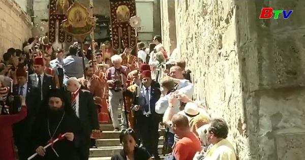 Thánh lễ phục sinh ở Jerusalem