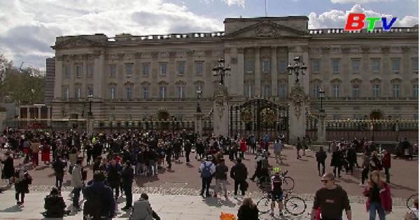 Nước Anh tiếc thương  Hoàng thân Philip