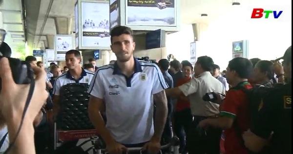 U20 Argentina đến Việt Nam vé trận giao hữu được người hâm mộ chào đón