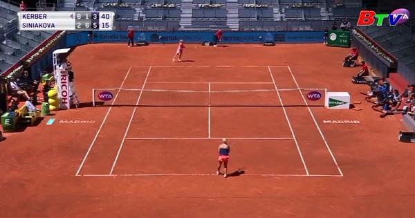Kết quả vòng 2 đơn nữ Madrid Open 2017