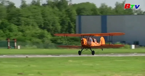Bỉ hướng tới cuộc thi đáp máy bay trên cát