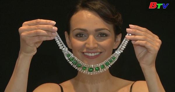 Sotheby sắp bán đấu giá vòng cổ kim cương ờ  Geneva
