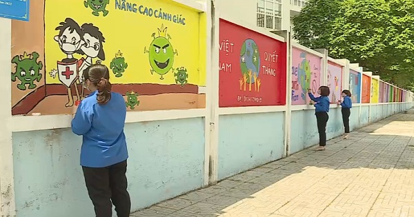 Tranh tường bích họa mang những thông điệp ý nghĩa
