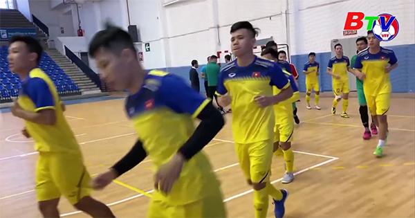 Đội tuyển Futsal Việt Nam sẽ đá giao hữu với tuyển Futsal Iraq