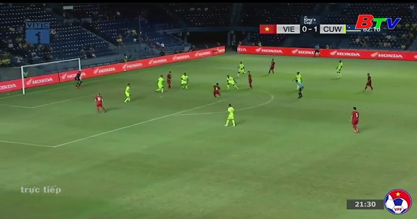 Chung kết King's Cup 2019 - Việt Nam 1-1 Curacao (4-5 pen)
